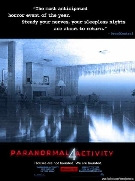 Paranormal Activity 4 / Паранормална активност 4 (2012)