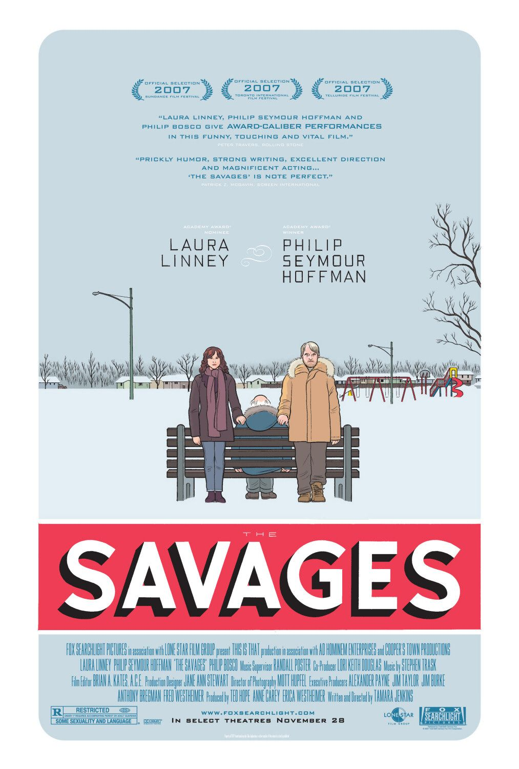 The Savages / Семейство Савидж (2007)